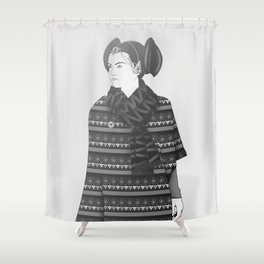 The Most Stylish Couple in Galactic 2 Shower Curtain