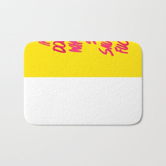 MEAN / popart version Bath Mat