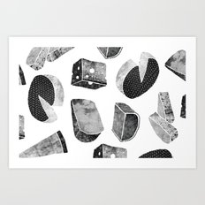 CHEESY Art Print