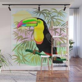 Toucan Wild Bird from Amazon Rainforest Wall Mural