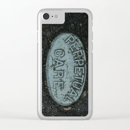 Perpetual Care Clear iPhone Case