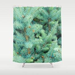 Thorns of Fir Shower Curtain