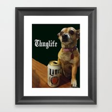 Thuglife Framed Art Print