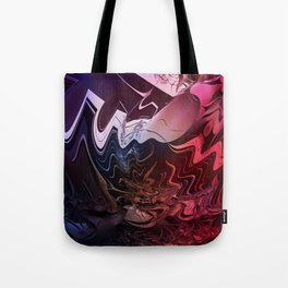 Anger management - An abstract mood illustration Tote Bag