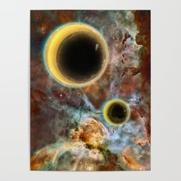 Crescent Mead Moons Poster