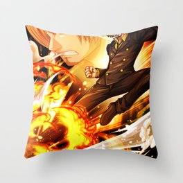 Sanji - One piece Throw Pillow