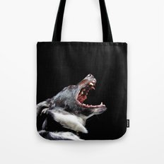 Bite The Hand That Feeds Tote Bag