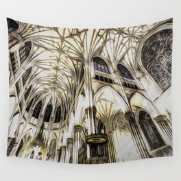Cathedral Architecture Art Wall Tapestry