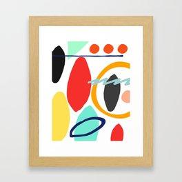 90s Framed Art Print