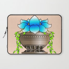 Blue Lotus Laptop Sleeve