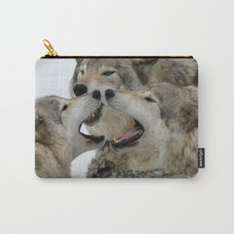 Shouting Match Carry-All Pouch