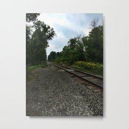 Railroad Metal Print