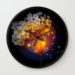 Sweet  simplicity Wall Clock