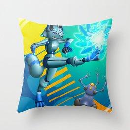 Krispe Kitsune Throw Pillow