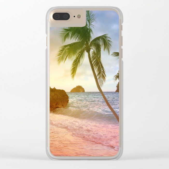 boracay Clear iPhone Case