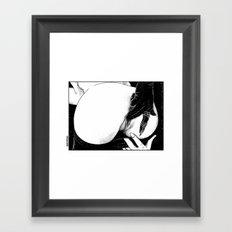asc 582 - Le gant de velours (The velvet glove) Framed Art Print
