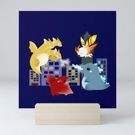 King of the Monsters Mini Art Print