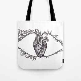 One must look with the heart Tote Bag