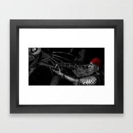 Dwarf vs. Hook Horror  Framed Art Print