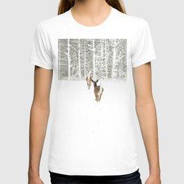 Doe In Winter T-shirt