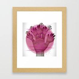 Elementum Framed Art Print