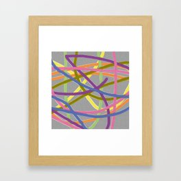 One Loose End Framed Art Print