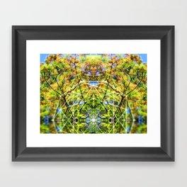 GeoBotanica V2 Framed Art Print
