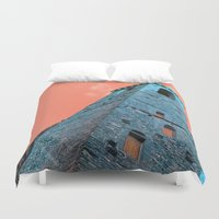 florence Duvet Covers featuring Florence by Chernyshova Daryna