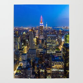 Manhattan - New York Poster
