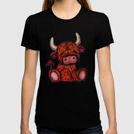 Cuddly Highland Cattle T-shirt