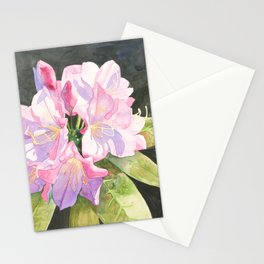 Pink Rhododendron Stationery Cards