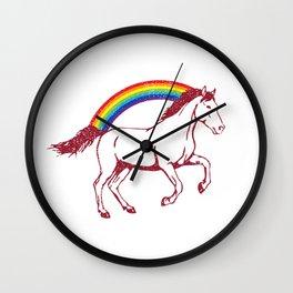 logan Laura's Wall Clock