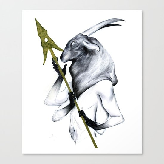 A Forest's Guardian Canvas Print