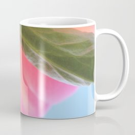 Bottom View of a Peony Coffee Mug