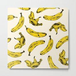 Banana Cream Metal Print