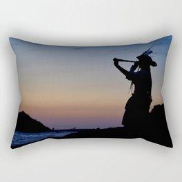 Pirate Beach Rectangular Pillow