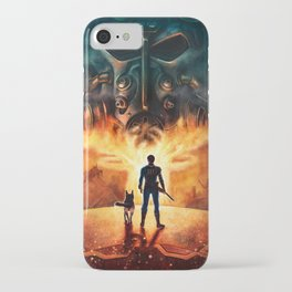FALL OUT: RAIDER ROAD (No Text) iPhone Case
