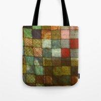 blanket Tote Bags featuring Blanket by Lyssia Merrifield