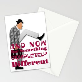 And Now for Something Completely Different Stationery Cards