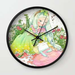Blissful Sleep Wall Clock