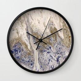 Marbled #2 Wall Clock