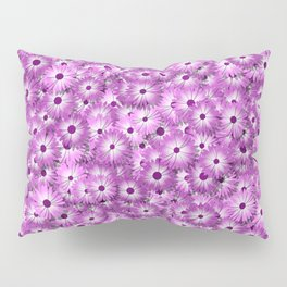 magenta daisy flowers Pillow Sham