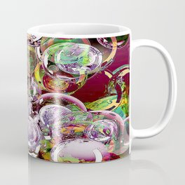 The hope is an iridescent bubble which colors fleetingly the life. Coffee Mug