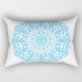 Mandala 12 / 4 eden spirit light blue turquoise Rectangular Pillow