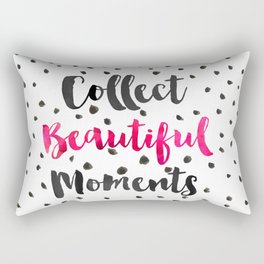 Collect beautiful moments Rectangular Pillow