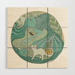 Planet Earth 1 Wood Wall Art