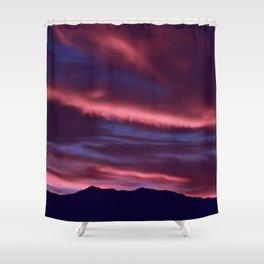 SW Serenity Rose Sunrise Shower Curtain