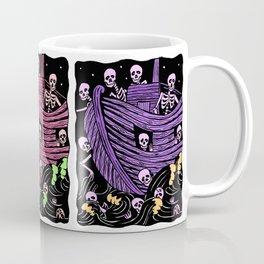 Day of the Dead/Dia de Los Muertos Ship of Fools Coffee Mug