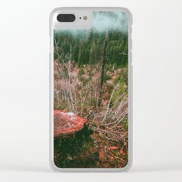 The Valley Clear iPhone Case
