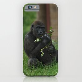 Cheeky Gorilla Lope iPhone Case